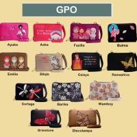 Dompet Wanita Selempang Dompet Organizer Modipla GPO Motif Jepang