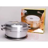 BIMA Baking Pan 24cm Aluminium Pemanggang Kue Bolu 6 Telur AL040