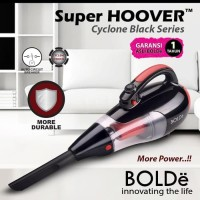 BOLDe Vacuum & Blow Cleaner Super Hoover Cyclone - BLACK EDITION