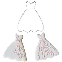 WEDDING DRESS COOKIE CUTTER - CETAKAN KUE KERING GAUN PENGANTIN