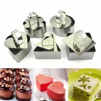 MOUSSE CAKE MOLD STAINLESS STEEL - CETAKAN MOUSSE - LOYANG CAKE BUSA