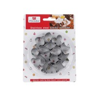 CETAKAN COOKIES MANBO 15S - GEOMETRY SHAPE COOKIE CUTTER - PEMOTONG