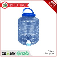 Air Galon / Galon Air 5 Liter Dengan Kran