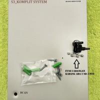 Power Supply 12v 20A Box 20 A 16CH  18 PORT sentral Kamera camera CCTV