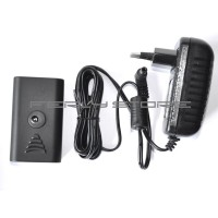 Sony NP-F750 NP-F550 NP-F970 Dummy Battery & DC Adaptor for LED Light