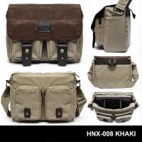 Tas Kamera HONX Sling Bag Messenger Bag HNX 008 HNX-008 HNX008 KHAKI
