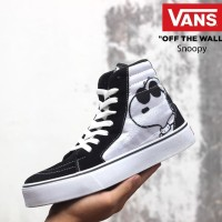 Sepatu Vans Authentic Old School High Motif Snoopy