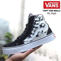 Sepatu Vans Sneakers Authentic Old School Motif High