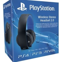 SONY HEADSET Wireless Gaming 2 0 for PS4 PS3 PSVITA