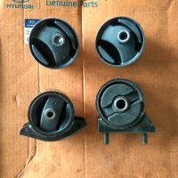 engine mounting Hyundai accent cakra excel 1 kw Korea 4pc