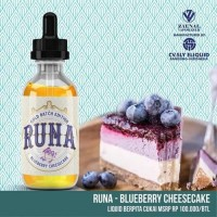 Liquid Runa Blueberry Cheesecake 60ML 3MG by Sly Liquid CUkai murah