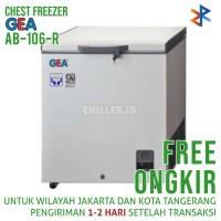 Chest Freezer GEA AB-106 / AB106R 102 Liter Free Ongkir