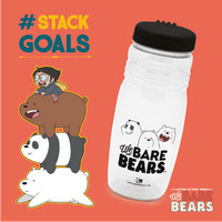 BOTOL MINUM SPORT BOTTLE WE BARE BEARS 675 ML