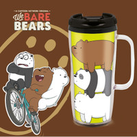 TUMBLER LUCU BOTOL MINUM WE BARE BEARS 370 ML