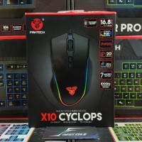 Fantech X10 Cyclops Gaming Mouse Garansi Resmi 1 Tahun