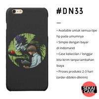 casing anime death note #dn33 hp samsung xiaomi oppo iphone asus etc