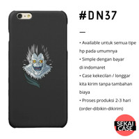 casing anime death note #dn37 hp samsung xiaomi oppo iphone asus etc