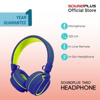 [FS] Soundplus –Taro | Headphone Murah Portable With Microphone