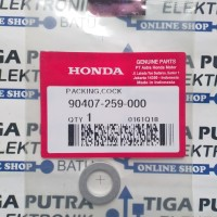 Ring Packing Cock Pembuangan Oli (1 Pcs) 90407 259 000 Original Honda