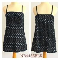 LINGERIE BABY DOLL, BAHAN KATUN, SEXY DRESS, NB4455BLK