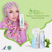 Shampo Anti Rontok Ampuh - Green Angelica Hair Shampoo - Anti Rontok