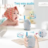 2.4GHz Digital Audio Baby Monitor Walkie Talkie Children Two Way Radio