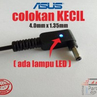 Terlaris Adaptor Charger Cas Laptop Asus 19V 2.37A Colokan Kecil 4.0Mm