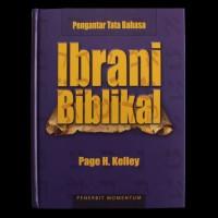 Buku Rohani Kristen - Pengantar Tata Bahasa Ibrani Biblikal