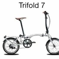 PROMO sepeda lipat trifold 7 united surabaya READY