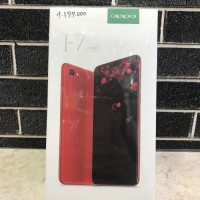 Hp Oppo F7 ram 4gb/rom 64gb garansi resmi ready wrna red,black n grey