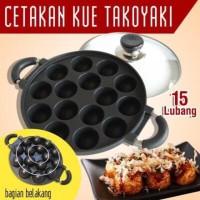 Cetakan Takoyaki 15 Lubang Merk HAPYYCALL