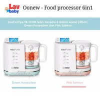 Oonew baby pure Food Processor 6in1 steamer blender mpasi bayi - PINK