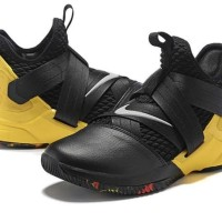 c2c6803408cd Sepatu Basket - Nike Lebron Soldier XII SFG Black Yellow - PRM