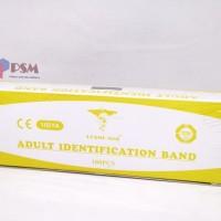 ID Band Adult Yellow / Gelang Identitas Pasien Dewasa Kuning - Cosmo
