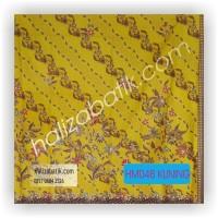 Contoh Baju Batik, Model Baju Kantor, Mode Batik Modern, HM048 KUNING