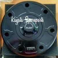 Tutup Tangki (Fuel Cap) buat Kawasaki Ninja 150 2Tak merek TYGA
