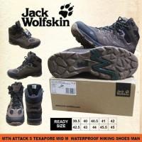 Sepatu Gunung Jack Wolfskin Mtn Attack 5 Texapore Mid M Original