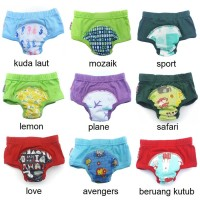 M - Klodiz Training Pants Celana Latih Toilet Anak dan Bayi
