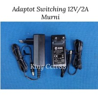 adaptor kamera cctv 12v/2a