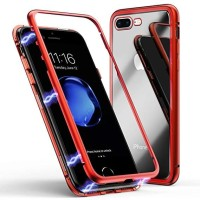 Premium case 2in1 magnetic iphone X Xs 5 5g 5s 6 6s 6+ 7 7G 8 7+ 8+