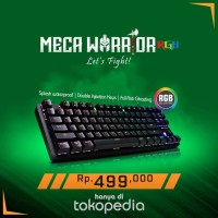 Digital Aliance Keyboard Gaming Meca Warrior RGB ( FS )
