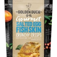 The Golden Duck Gourmet Salted Egg Fish Skin 125gr Singapore - Salted Egg Crab