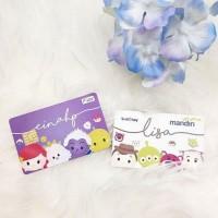 Jual Custom Kartu e Money Mandiri / Flazz BCA Tsum Tsum Ariel / Woody