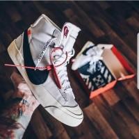 Nike Blazer Mid X Off White Un Authorized Original / Sepatu Nike