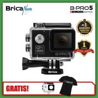 Brica B-Pro 5 Alpha Edition Lite Black Resmi - Bonus T-Shirt