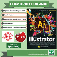 TERMURAH ORIGINAL Buku Adobe Illustrator Plus DVD - Hendi Hendratman