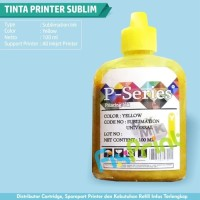 New 1 SET CMYK Tinta Sublim 100ml Printer Epson Cetak MUG dan Kertas