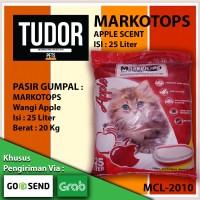 PASIR Kucing GUMPAL MARKOTOPS APPLE SCENT 25 LITER - CAT LITTER
