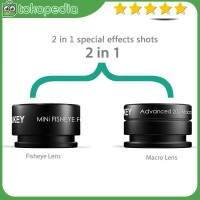 Aukey Lensa Fisheye Macro - PL-A2