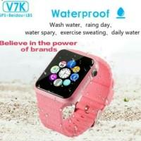 Jam Tangan Smartwatch V7k Smart Kids untuk Anak dengan Tracker